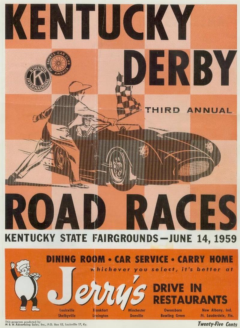 Cliff Reuter Etceterini.com 1959 SCCA Sports Car Race Results ...